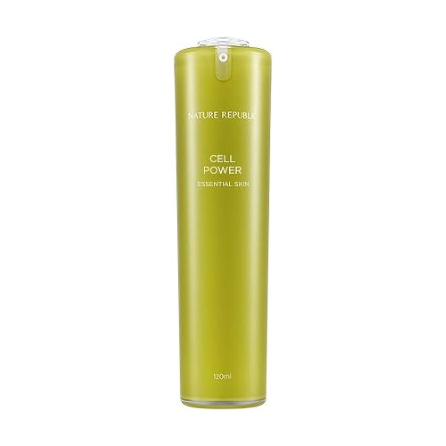 気付くハードリングエステートNATURE REPUBLIC Cell Power Essential Skin / ネイチャーリパブリックセルパワーエッセンシャルスキン 120ml [並行輸入品]