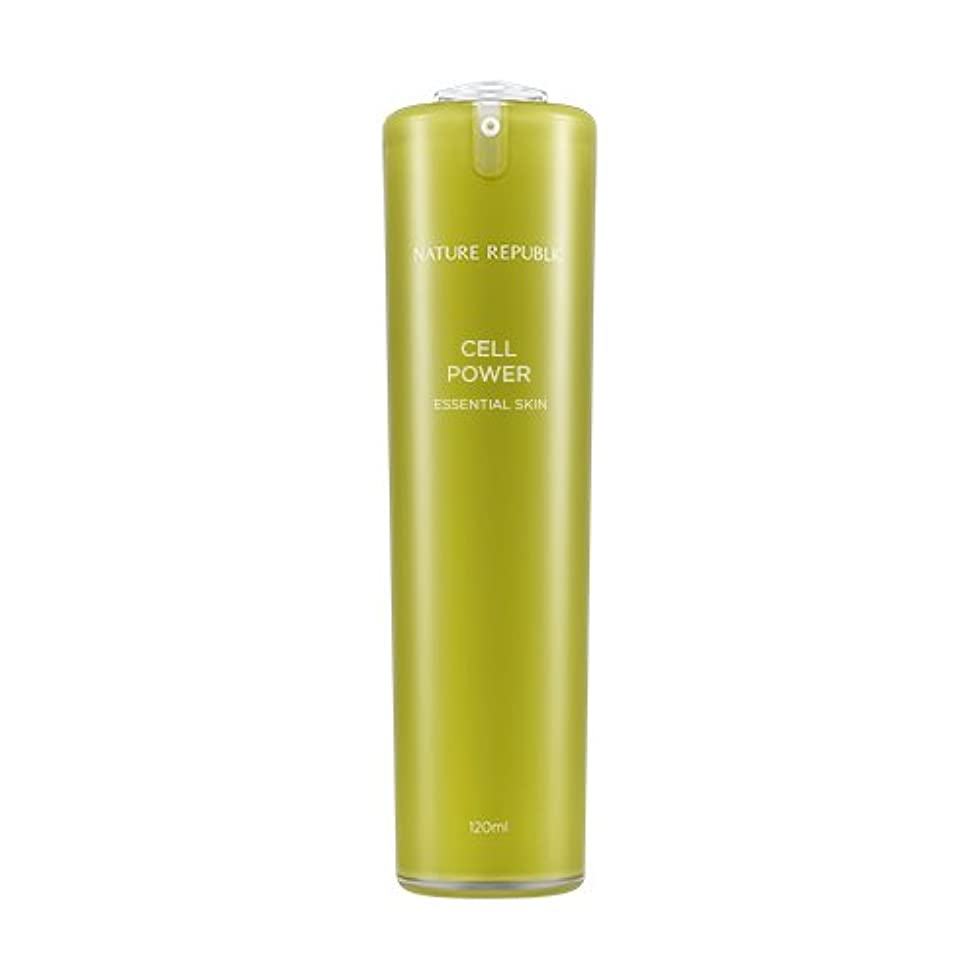 分散センチメンタル物足りないNATURE REPUBLIC Cell Power Essential Skin / ネイチャーリパブリックセルパワーエッセンシャルスキン 120ml [並行輸入品]