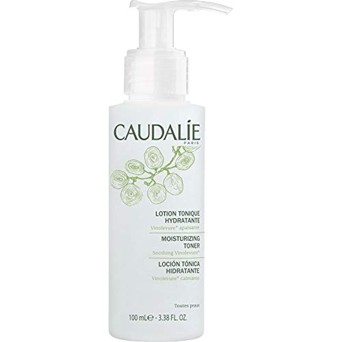人柄図書館対話Caudalie Moisturizing Toning Lotion 100ml [並行輸入品]