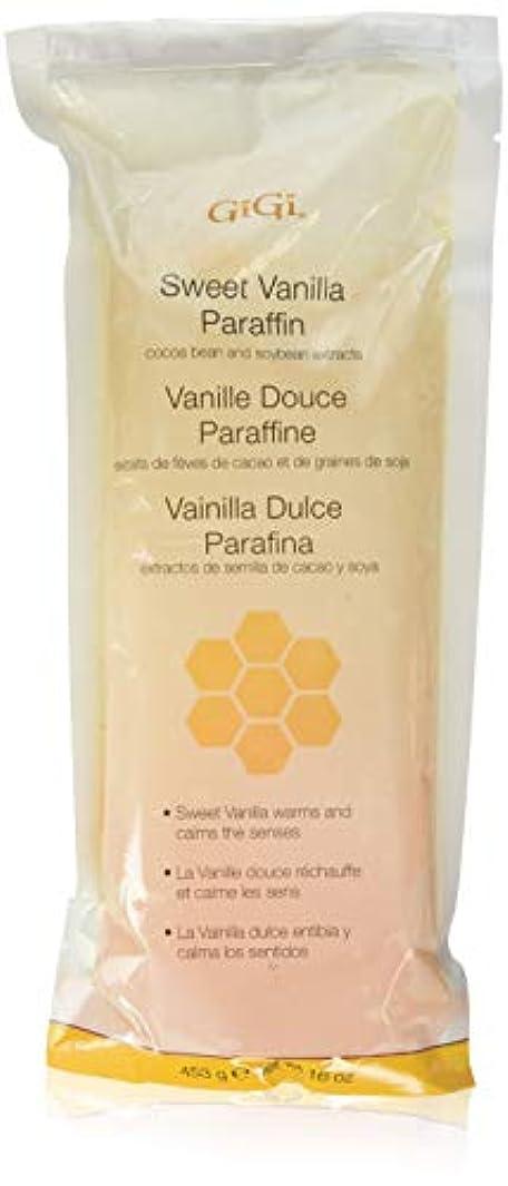 公平な追い付く休眠GiGi Paraffin Wax - Sweet Vanilla by Gigi