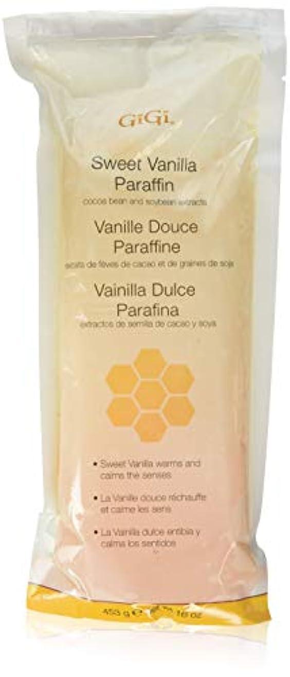 矩形特定の貧しいGiGi Paraffin Wax - Sweet Vanilla by Gigi