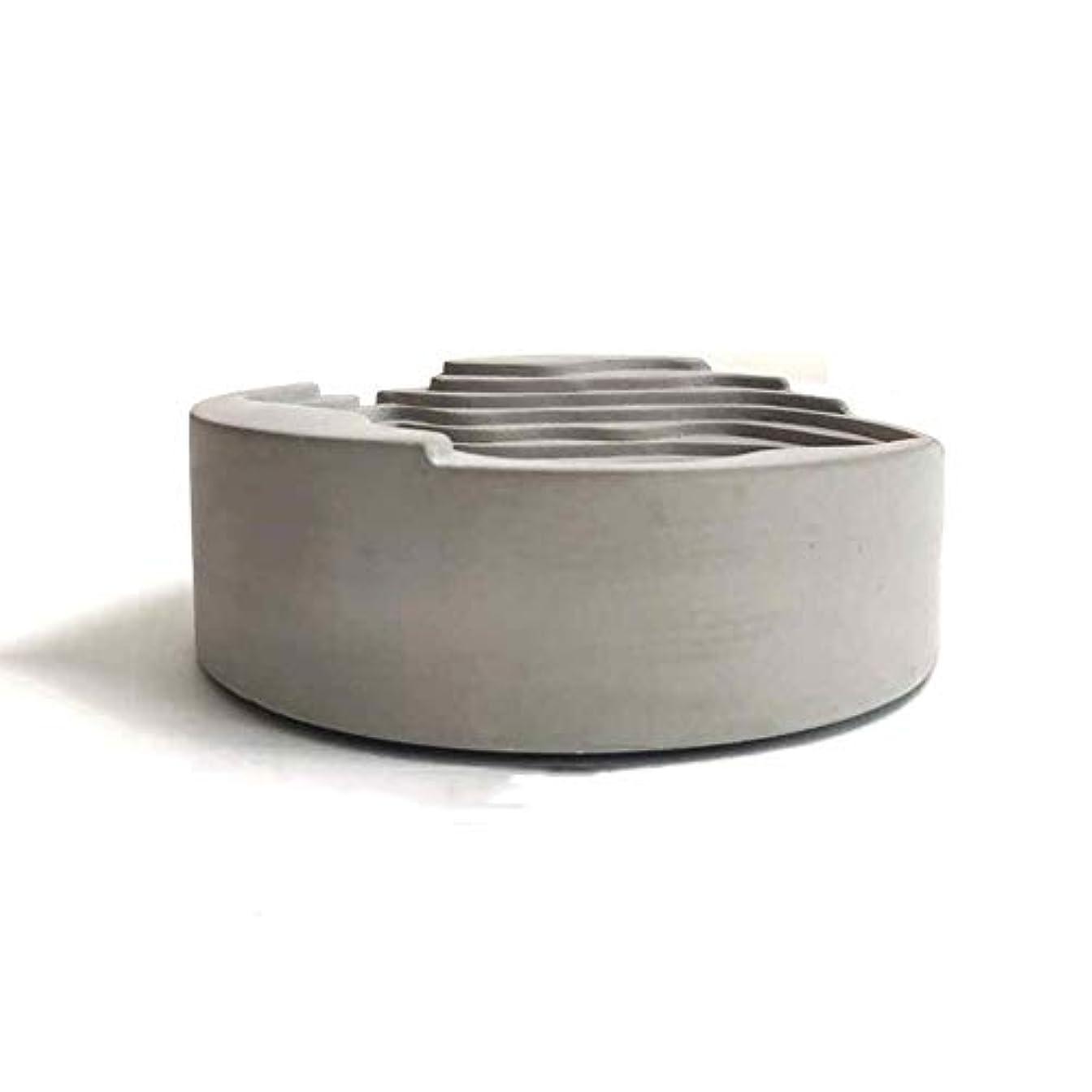 書誌ニュース証明するセメント灰皿オリジナルシンプルウォーターコンクリートギフト灰皿