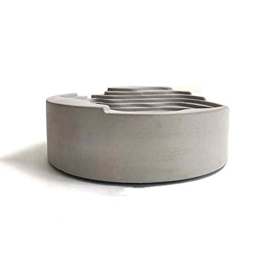 ラバ特徴づける元に戻すセメント灰皿オリジナルシンプルウォーターコンクリートギフト灰皿