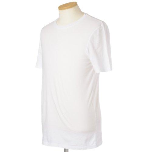 (スリードッツ)Three Dots メンズ クルーネック半袖Tシャツ BO1C-645 White S [並行輸入品]