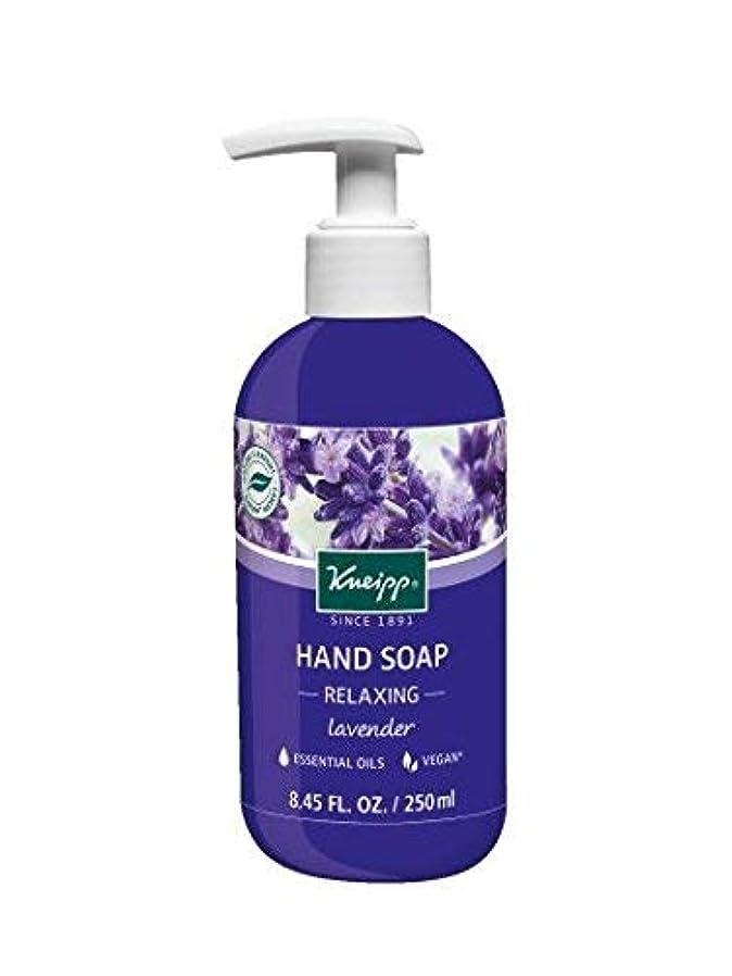 戦士彫るアルコールKneipp Lavender Hand Soap 8.45 Fl Oz [並行輸入品]