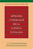 Apologia i vindicació de la llengua
