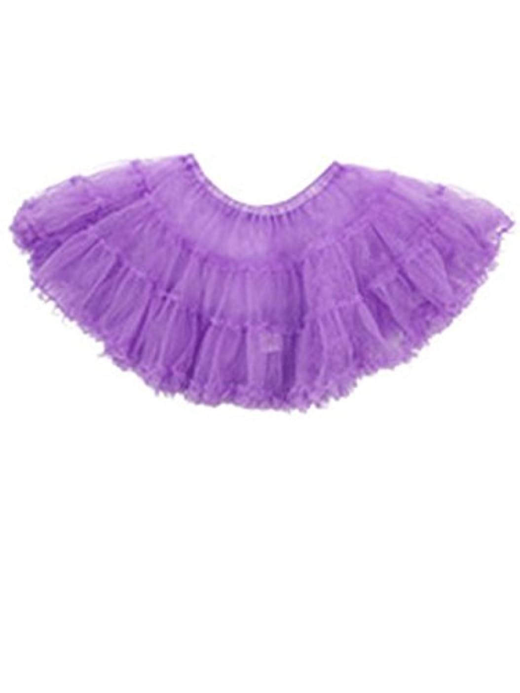 昇る湿気の多いいくつかのコスプレ スカート 衣裳 ふんわり パニエ ボリューム コスチューム用 小物 ドレス 紫 tg001pp
