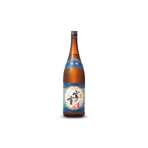 宮崎本店 宮の雪 純米酒 [ 日本酒 1800ml ]