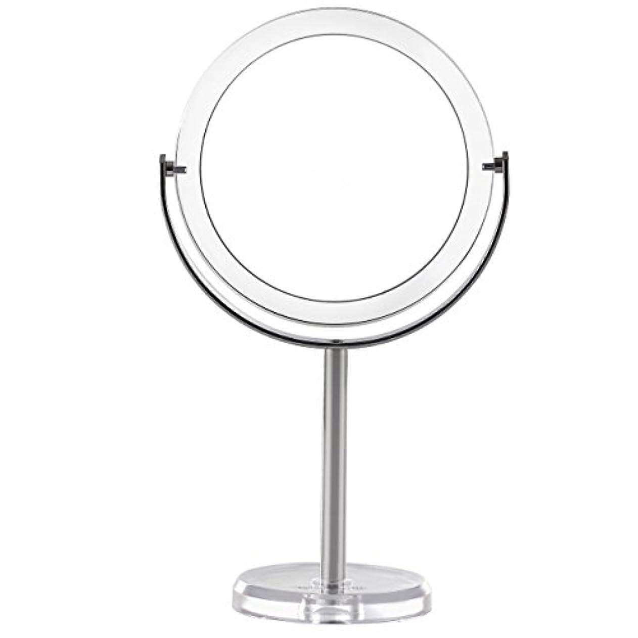 呼び出すくヒープMiss Sweet スタンドミラー 両面鏡 1倍*10倍拡大鏡 (Color 1)