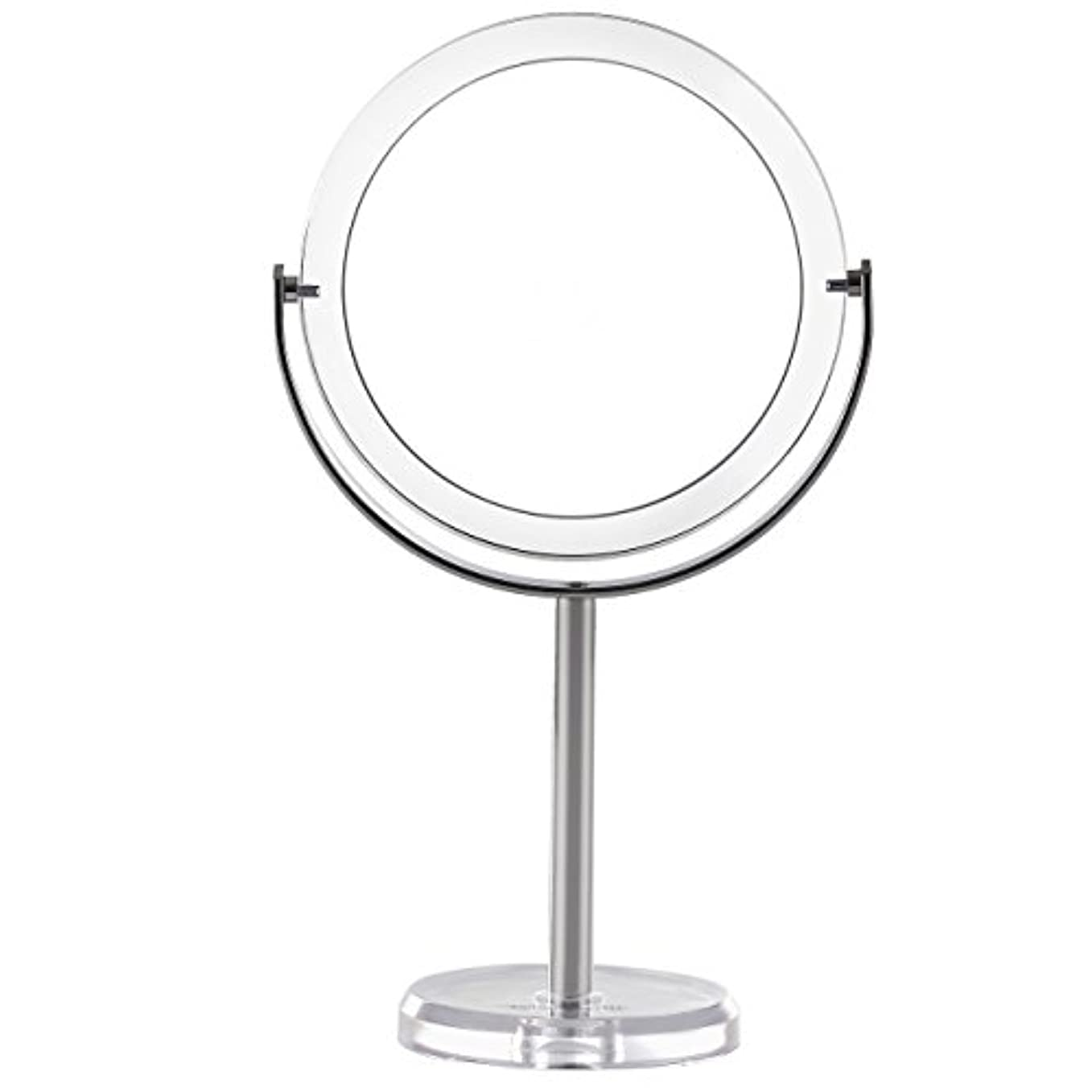 確認する極めてマーガレットミッチェルMiss Sweet 拡大鏡付き スタンドミラー 卓上化粧鏡 両面鏡 1倍*7倍 (Color 2 (1倍*7倍))