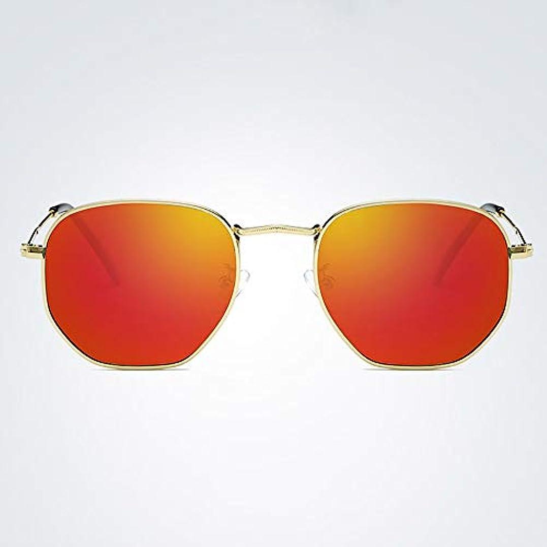 動力学活気づく別のAnnis6 男性 女性 ドライビング メガネ 偏光 UV 400保護 野外活動用 偏光サングラス 釣り サングラス スポーツ 軽量 男女兼用 (色 : Gold/red)