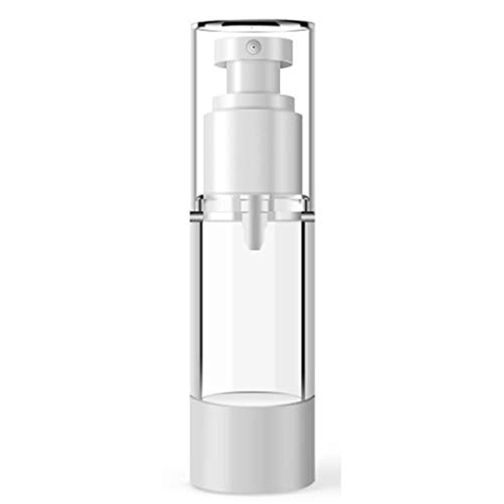 パドル負半径ACHICOO 小分けボトル 15ミリリットル 100ミリリットル プラスチック 化粧品ボトル 詰め替えボトル エマルジョンスプレー 透明 真空容器 100ml flat vacuum spray bottle