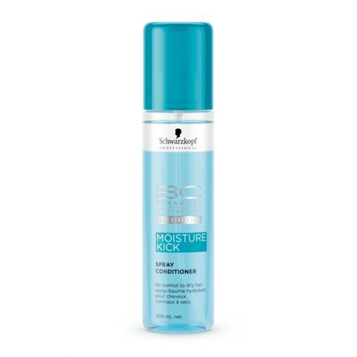 爵亡命人Schwarzkopf BC Moisture Kick Spray Conditioner 200 ml [並行輸入品]