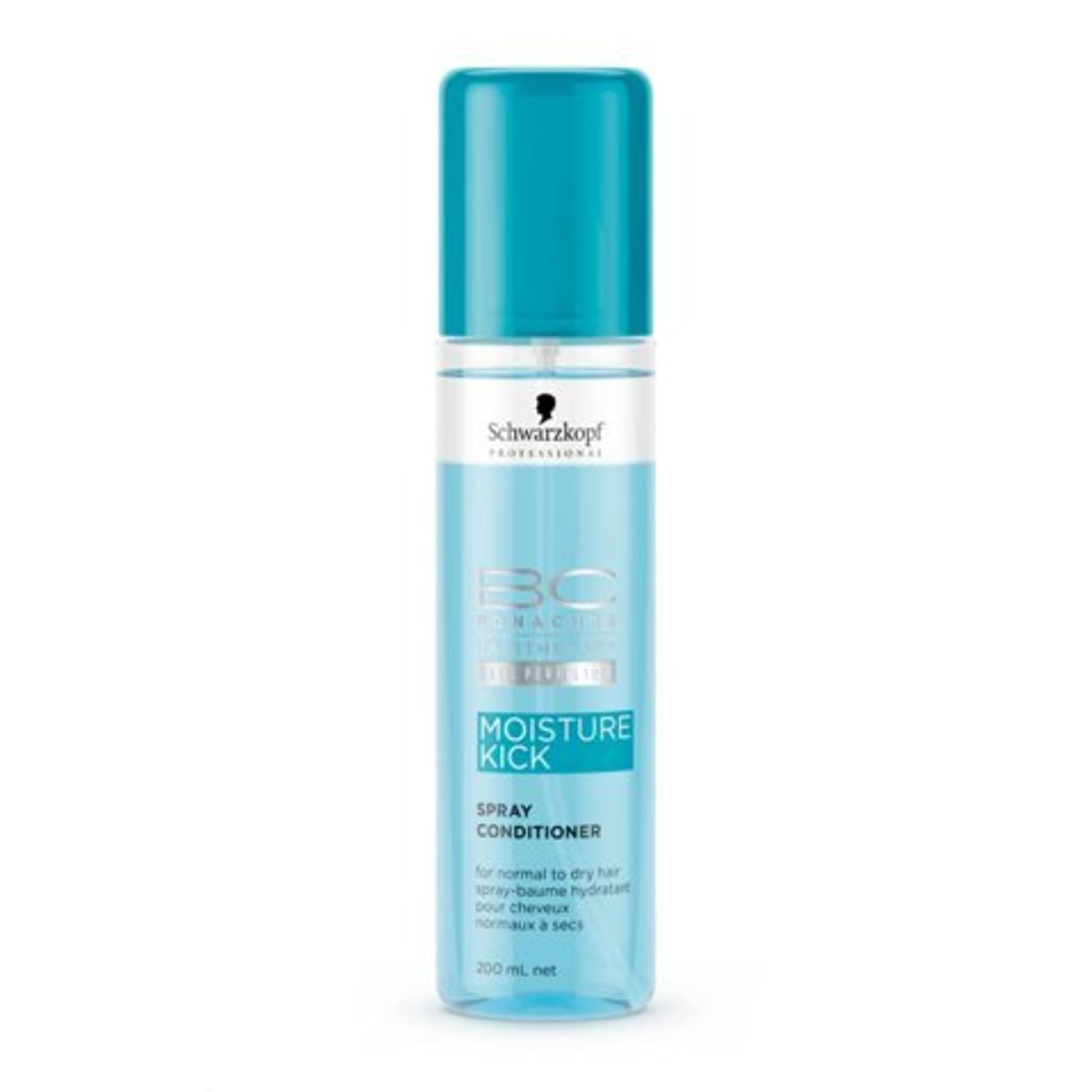通路解任驚いたSchwarzkopf BC Moisture Kick Spray Conditioner 200 ml [並行輸入品]