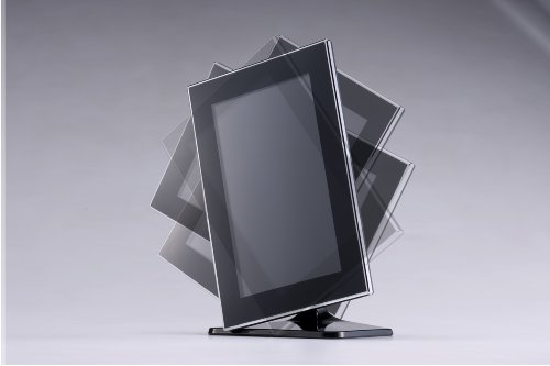 テクタイト デジタルフォトフレーム 7インチ ブラック SDP-T720VB