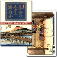 【浮世絵の傑作をトランプで】東海道五十三次 ゴールド