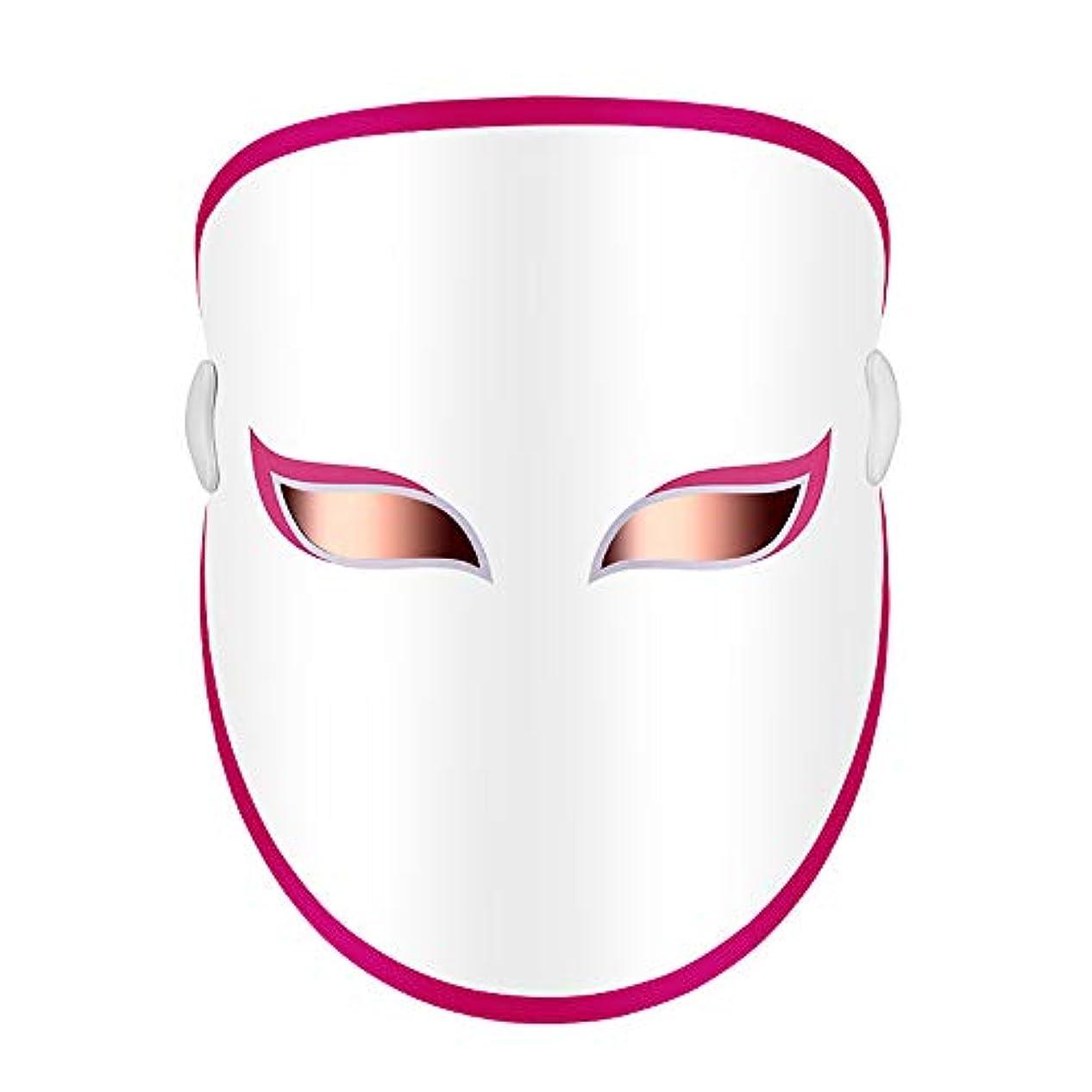 チャット最後の忠実なフェイスマスクを率い、プロ3色LEDの顔はしわを削減/肌の若返りのためのマスク/スカー/キルにきびを弱めます