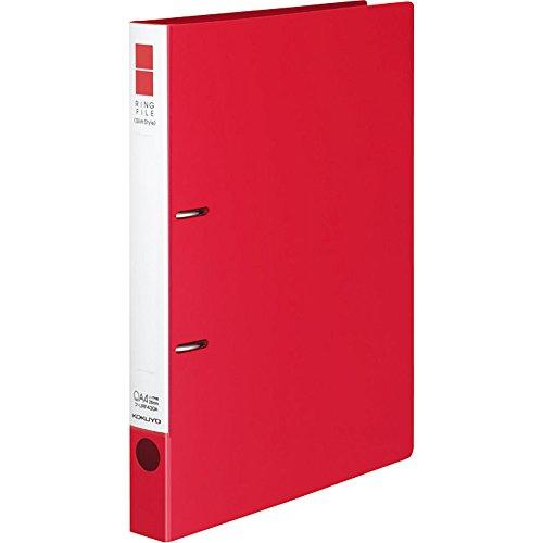 コクヨ ファイル リングファイル スリムスタイルPPシート表紙 A4 220枚 赤 フ-URF430R