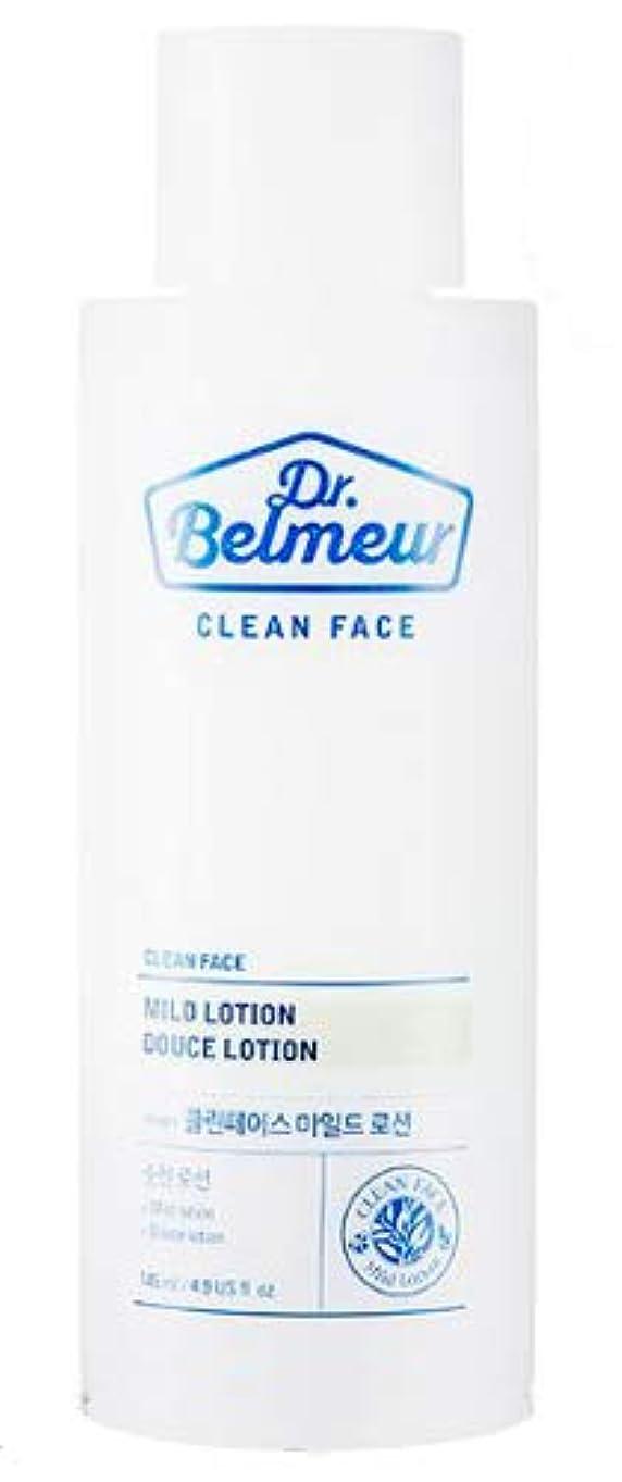 それに応じて過敏な日常的に[ザ?フェイスショップ] THE FACE SHOP [ドクターベルモ クリーンフェース マイルド ローション 145ml] (Dr.Belmeur Clean Face Mild Lotion 145ml)