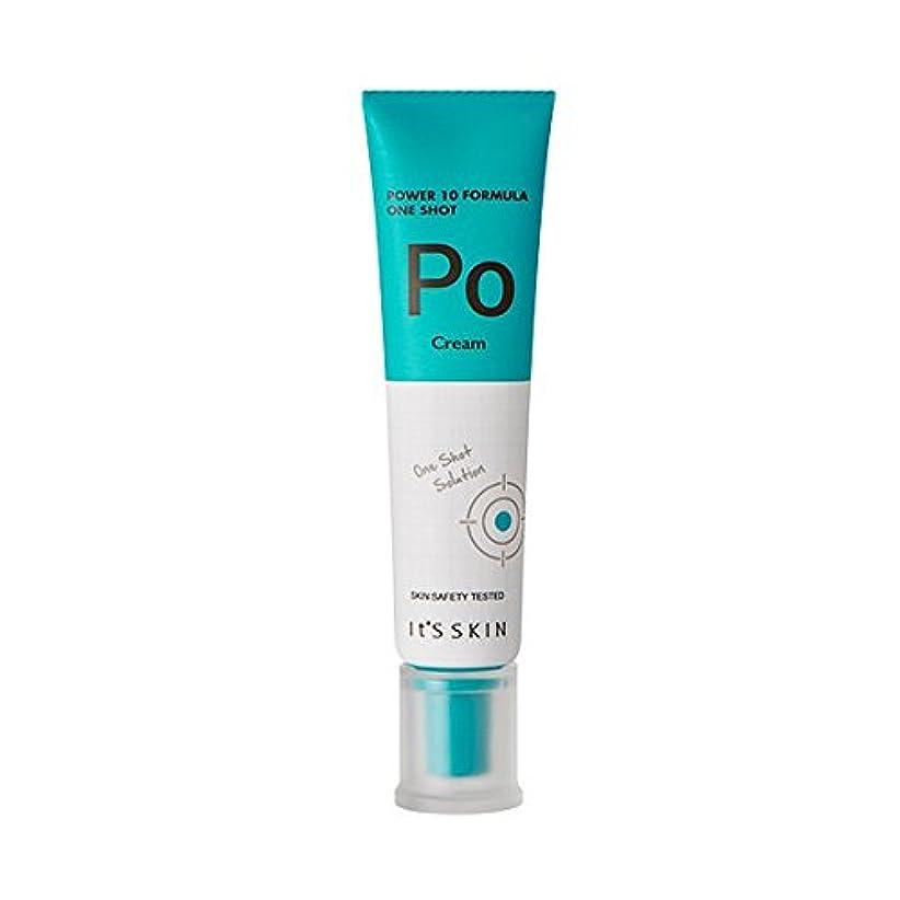 アルプスぴかぴか手術[New] It's Skin Power 10 Formula One Shot Cream (Po) / イッツスキンパワー10 フォーミュラワンショットクリーム [並行輸入品]