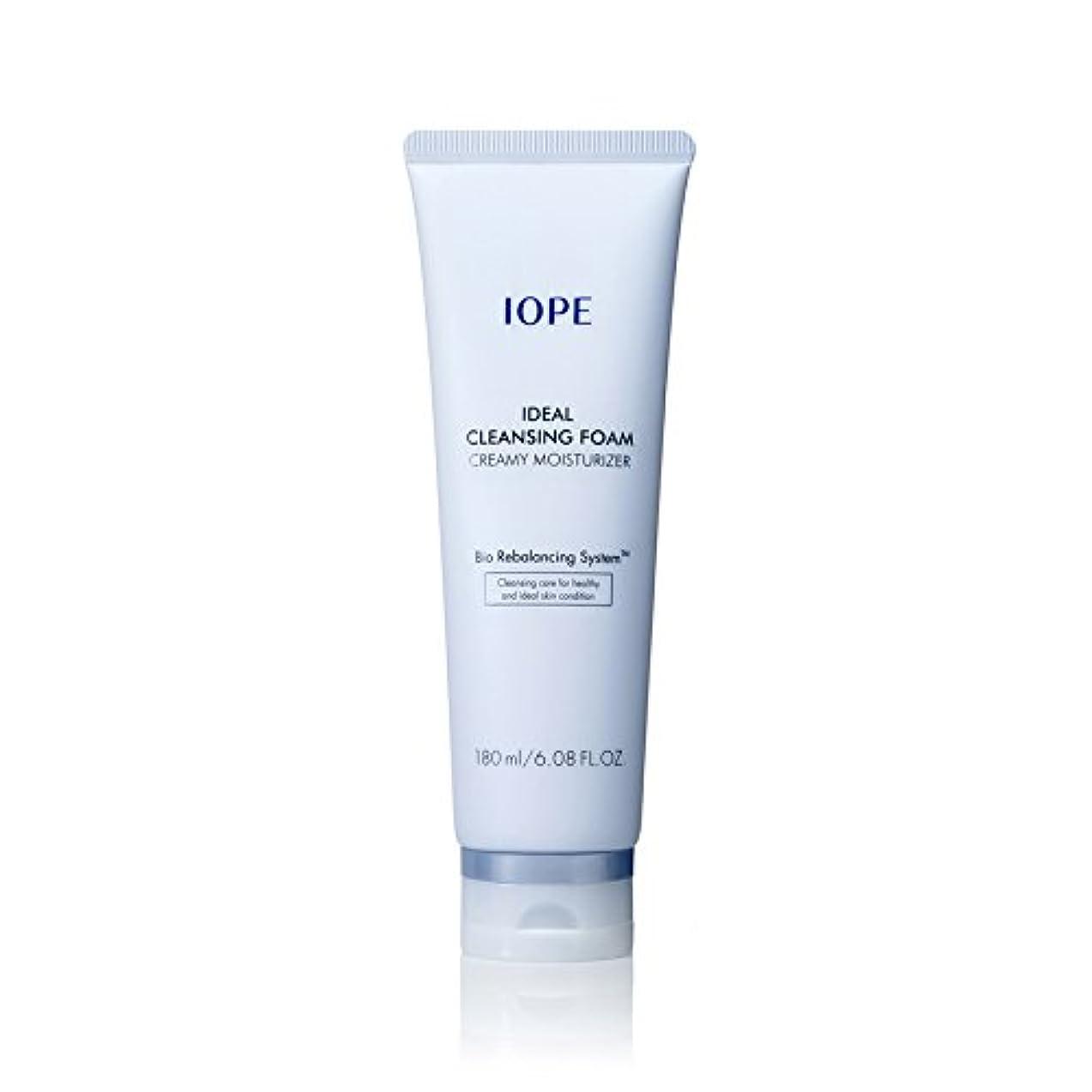 [New Ver.] IOPE Ideal Cleansing Foam Creamy Moisturizer 180ml/アイオペ アイディアル クレンジングフォーム クリーミー モイスチャライザー 180ml [並行輸入品]