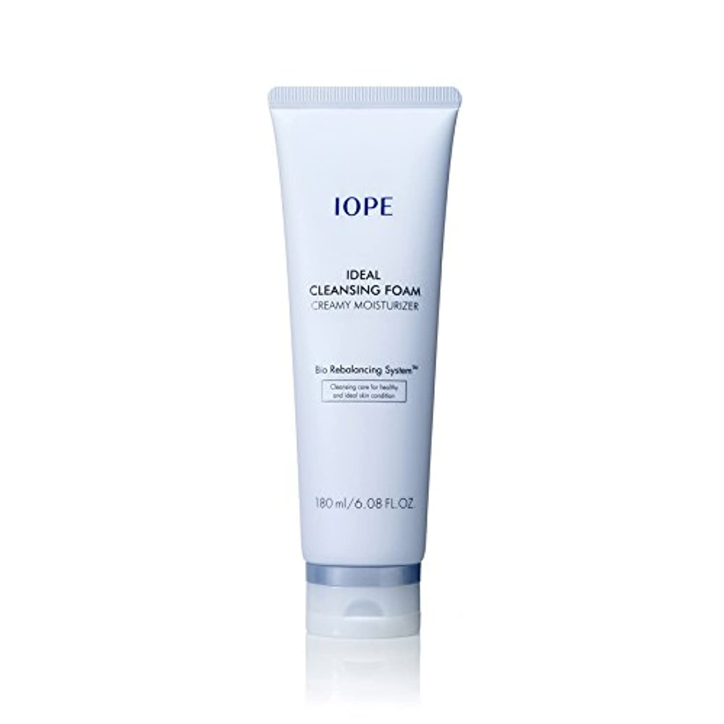 気配りのある不足治す[New Ver.] IOPE Ideal Cleansing Foam Creamy Moisturizer 180ml/アイオペ アイディアル クレンジングフォーム クリーミー モイスチャライザー 180ml [並行輸入品]