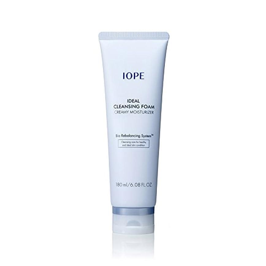 うん機会家畜[New Ver.] IOPE Ideal Cleansing Foam Creamy Moisturizer 180ml/アイオペ アイディアル クレンジングフォーム クリーミー モイスチャライザー 180ml [並行輸入品]