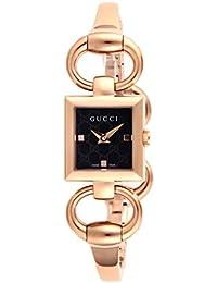 [グッチ]GUCCI 腕時計 トルナヴォー二 ブラック文字盤 ステンレス(PGPVD)ケース ステンレス(PGPVD)ベルト YA120521 レディース 【並行輸入品】