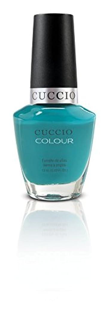 豪華な柔らかい北極圏Cuccio Colour Gloss Lacquer - Muscle Beach - 0.43oz / 13ml