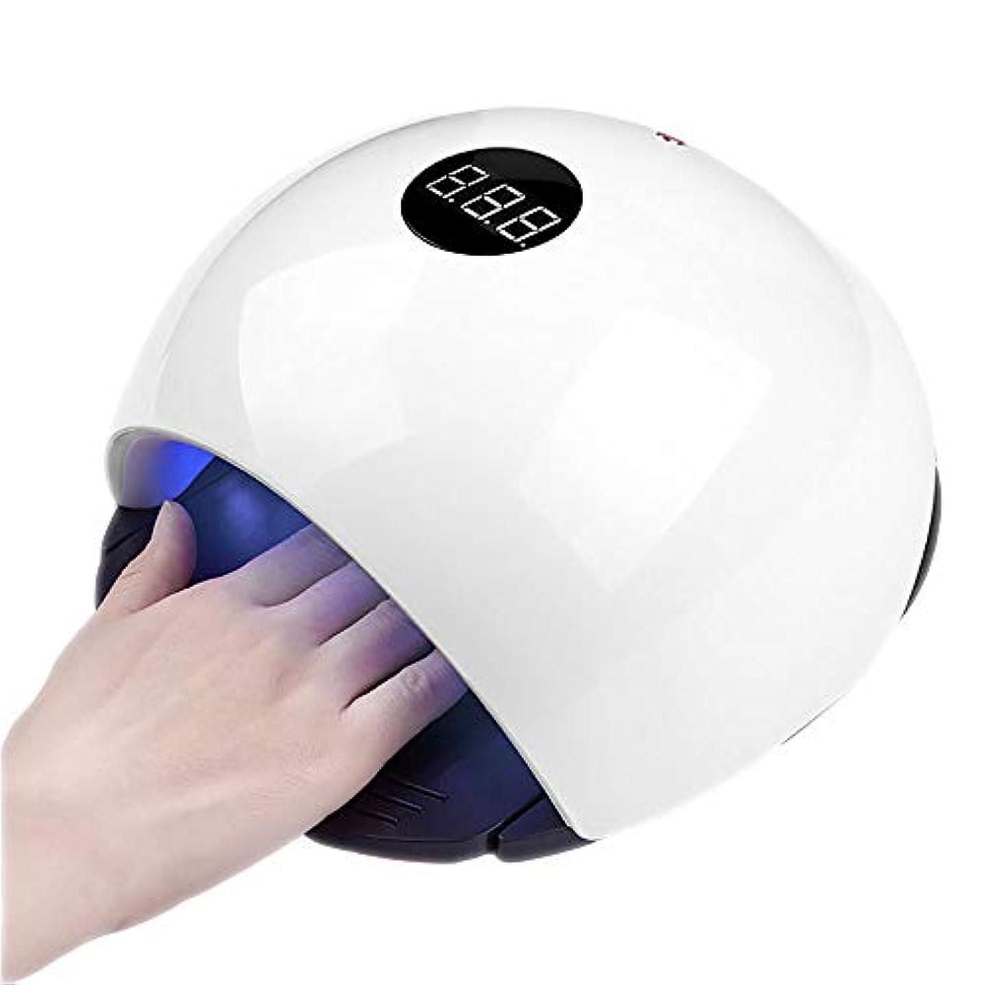 ピケうがい絶滅した釘のドライヤー - 自動赤外線センサー、二重光源のLEDランプのゲルのドライヤーのマニキュアが付いている紫外線携帯用LEDの釘ランプ