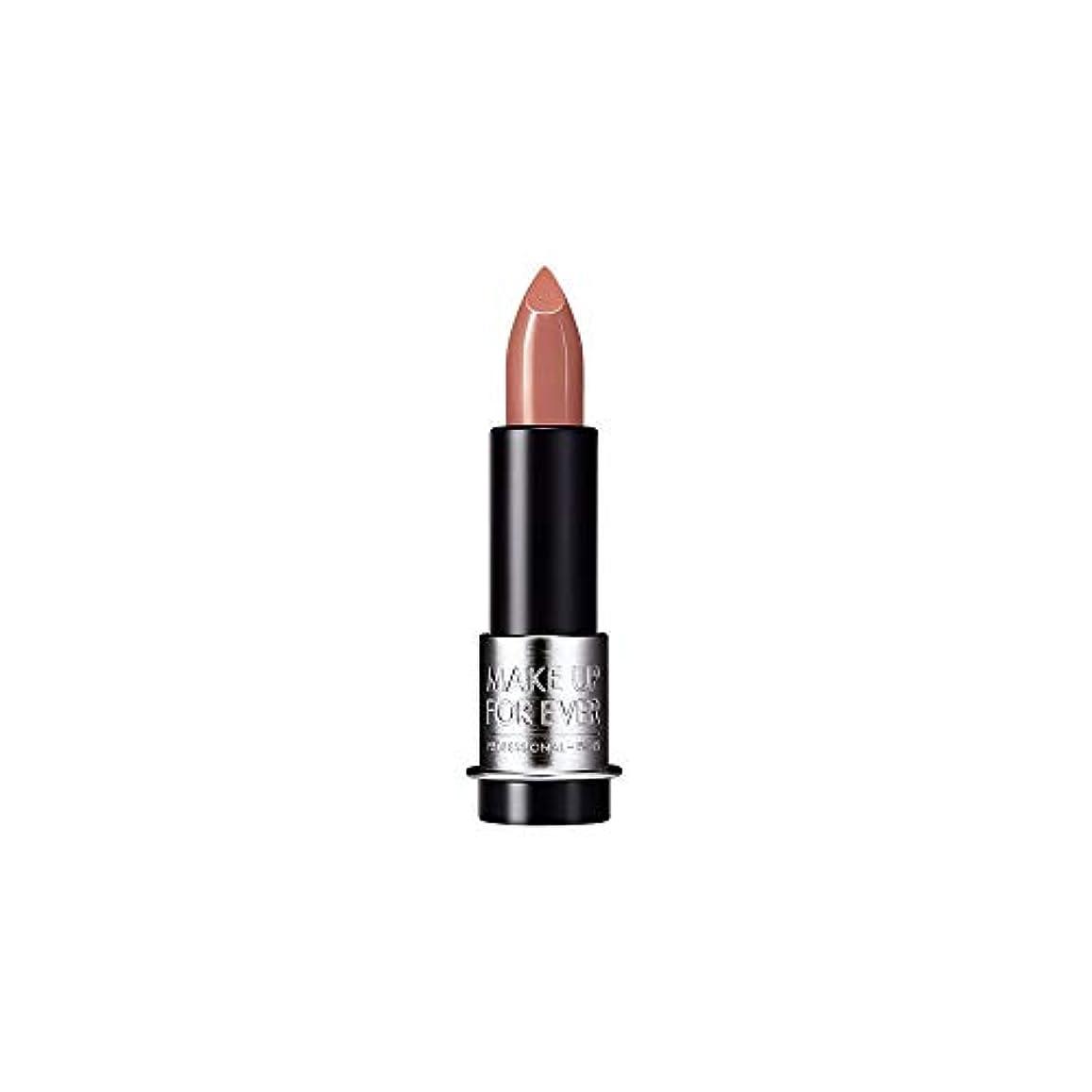 ギネスセーブゴシップ[MAKE UP FOR EVER] これまでアーティストルージュマット口紅3.5グラムのM100を補う - クリームベージュ - MAKE UP FOR EVER Artist Rouge Mat Lipstick 3.5g...