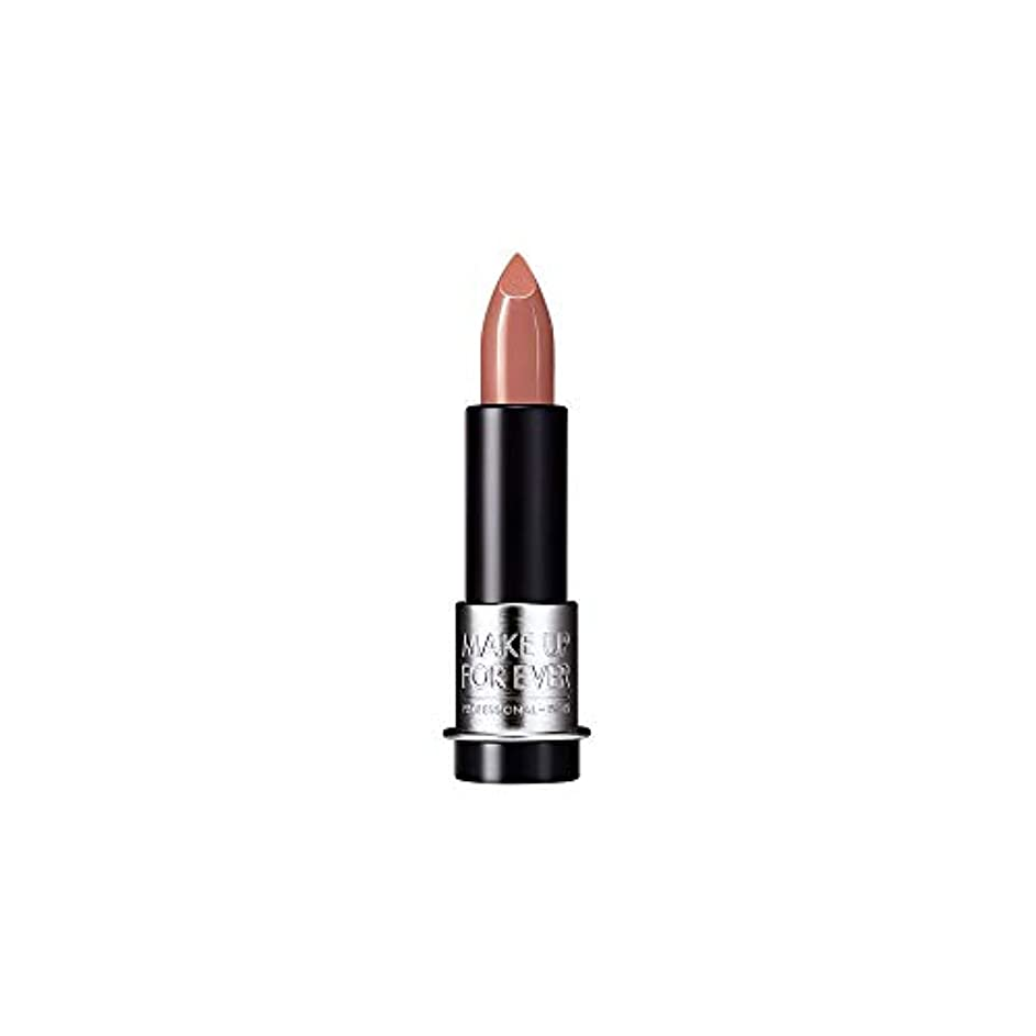クローン印象影響を受けやすいです[MAKE UP FOR EVER] これまでアーティストルージュマット口紅3.5グラムのM100を補う - クリームベージュ - MAKE UP FOR EVER Artist Rouge Mat Lipstick 3.5g M100 - Cream Beige [並行輸入品]