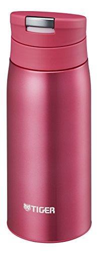 タイガー 水筒 350ml 直飲み ステンレス ミニ ボトル オートロック サハラ マグ 軽量 夢重力 オペラ ピンク MCX-A035-PO Tiger
