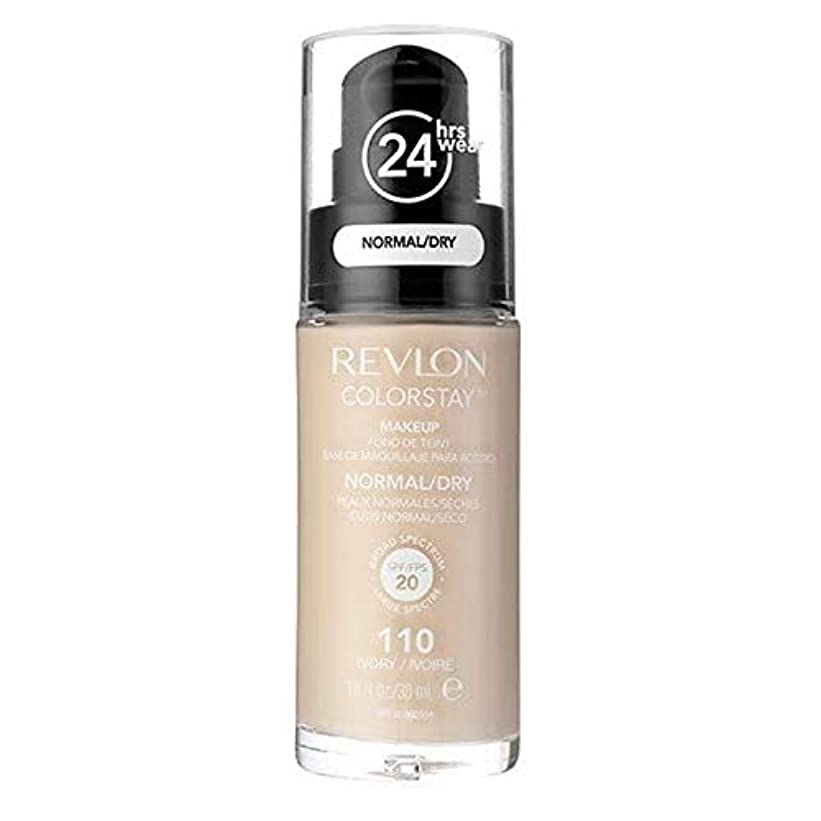 それに応じてリスト宿る[Revlon ] レブロンカラーステイ基盤ノルム/ドライアイボリー30ミリリットル - Revlon Color Stay Foundation Norm/Dry Ivory 30ml [並行輸入品]