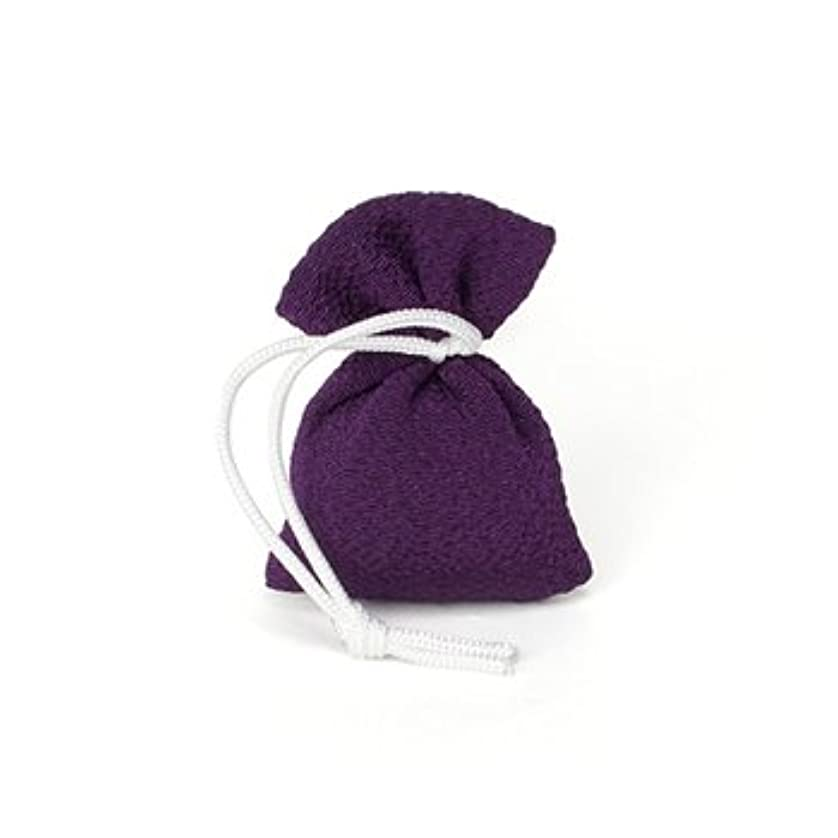 もし間接的甘い松栄堂 匂い袋 誰が袖 携帯用 1個入 ケースなし (色をお選びください) (古代紫)