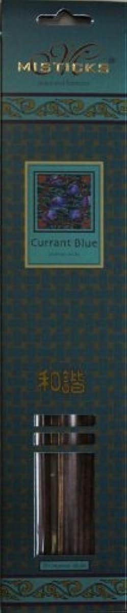 電化する追い出す上回るMisticks ミスティックス Currant Blue カラントブルー お香 20本入