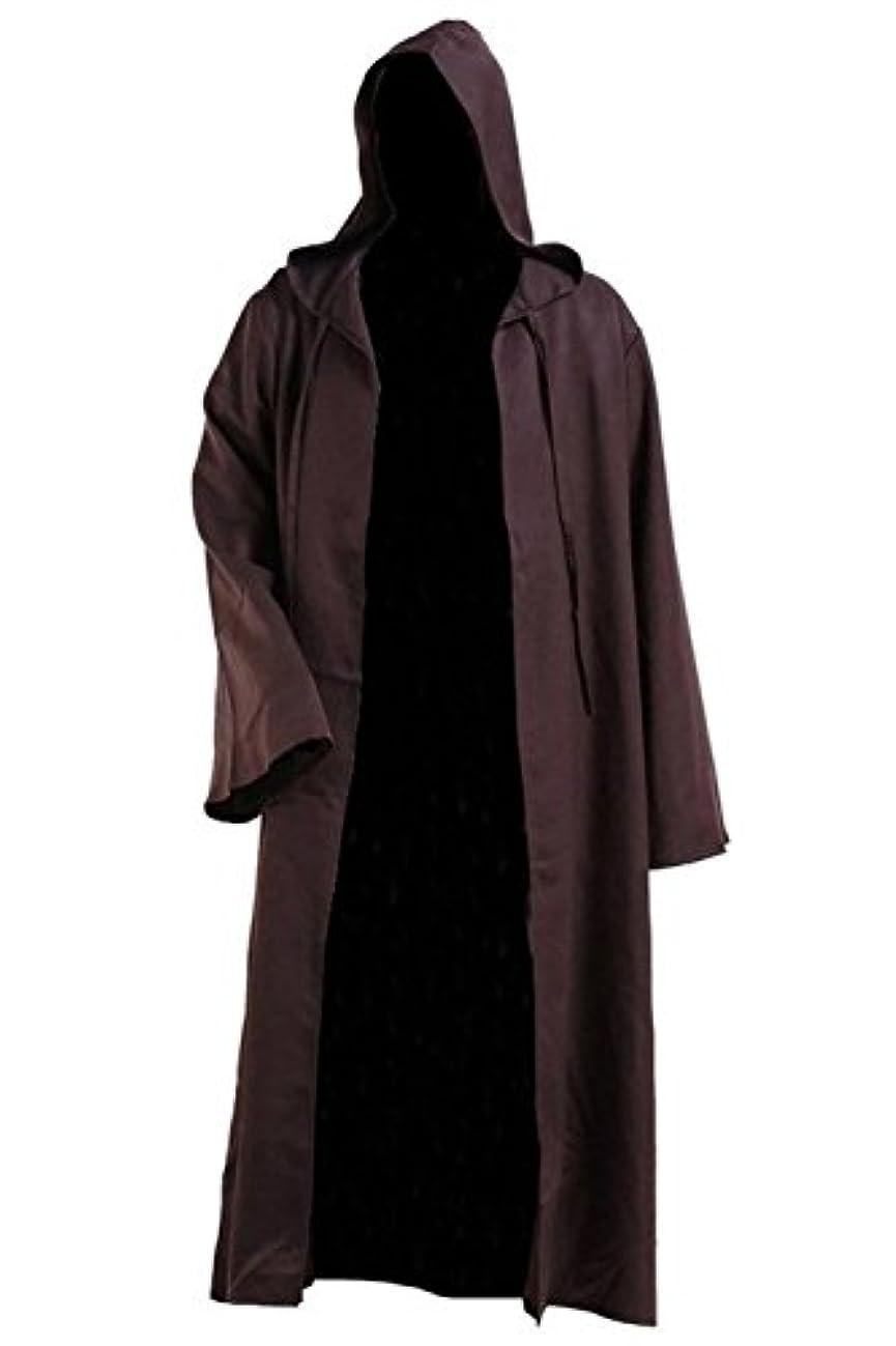 クリエイティブチャンピオンシップピアメンズ チュニック フード付き ローブ マント 騎士 仮装 格好いい コスプレ 衣装