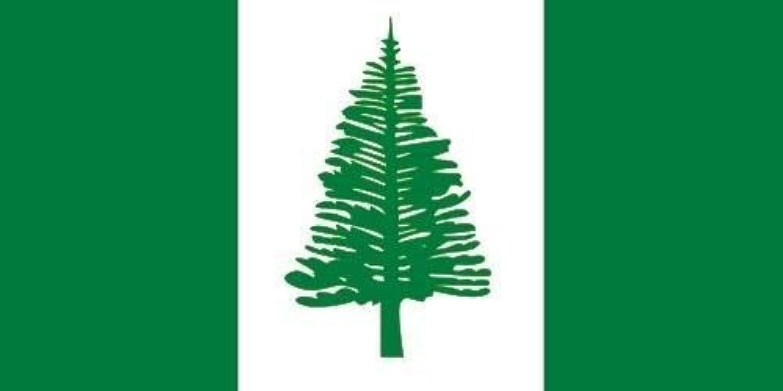 国旗 オーストラリア ノーフォーク島旗 90×150cm