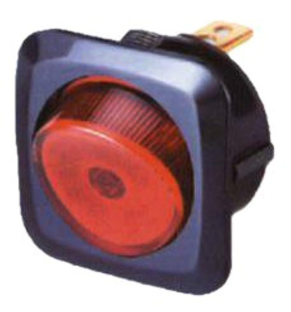 森束ねる便宜レッド図5a-12V - それはきれいな配線アクセサリー125865照光ロッカースイッチ5をキープ