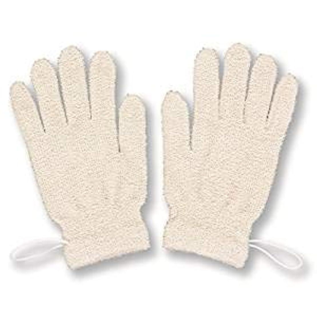 かわすブルーベルインデックスシルク ボディウォッシュ グローブ手袋[2枚](0731)
