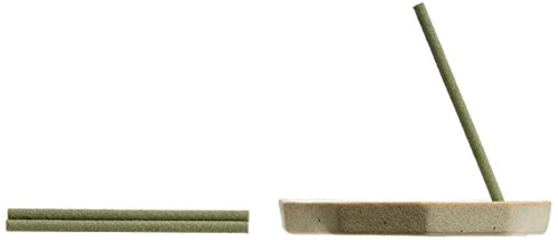 保守可能肥料水没野山からのおふくわけ しろつめくさの薫り スティック6本入&香皿