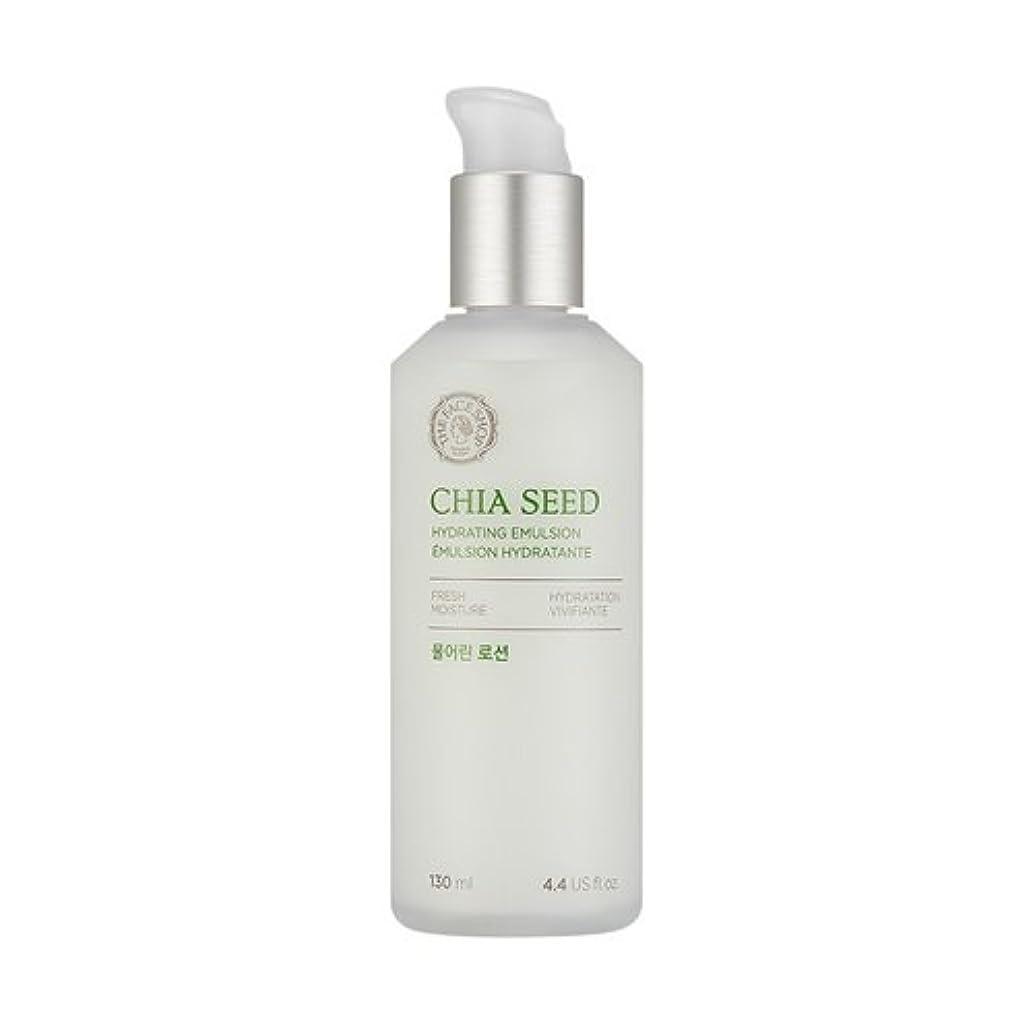 感情の長老巨大THE FACE SHOP Chia Seed Hydrating Emulsion 130ml/ザフェイスショップ チアシード ハイドレイティング エマルジョン 130ml