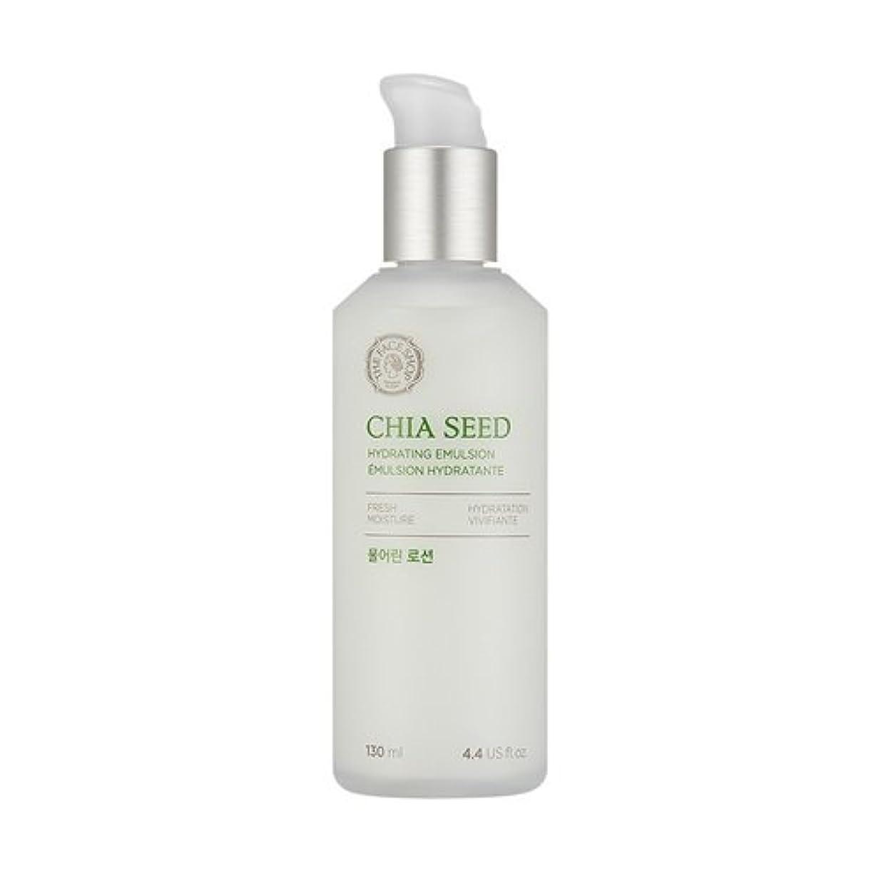爪インディカミスペンドTHE FACE SHOP Chia Seed Hydrating Emulsion 130ml/ザフェイスショップ チアシード ハイドレイティング エマルジョン 130ml