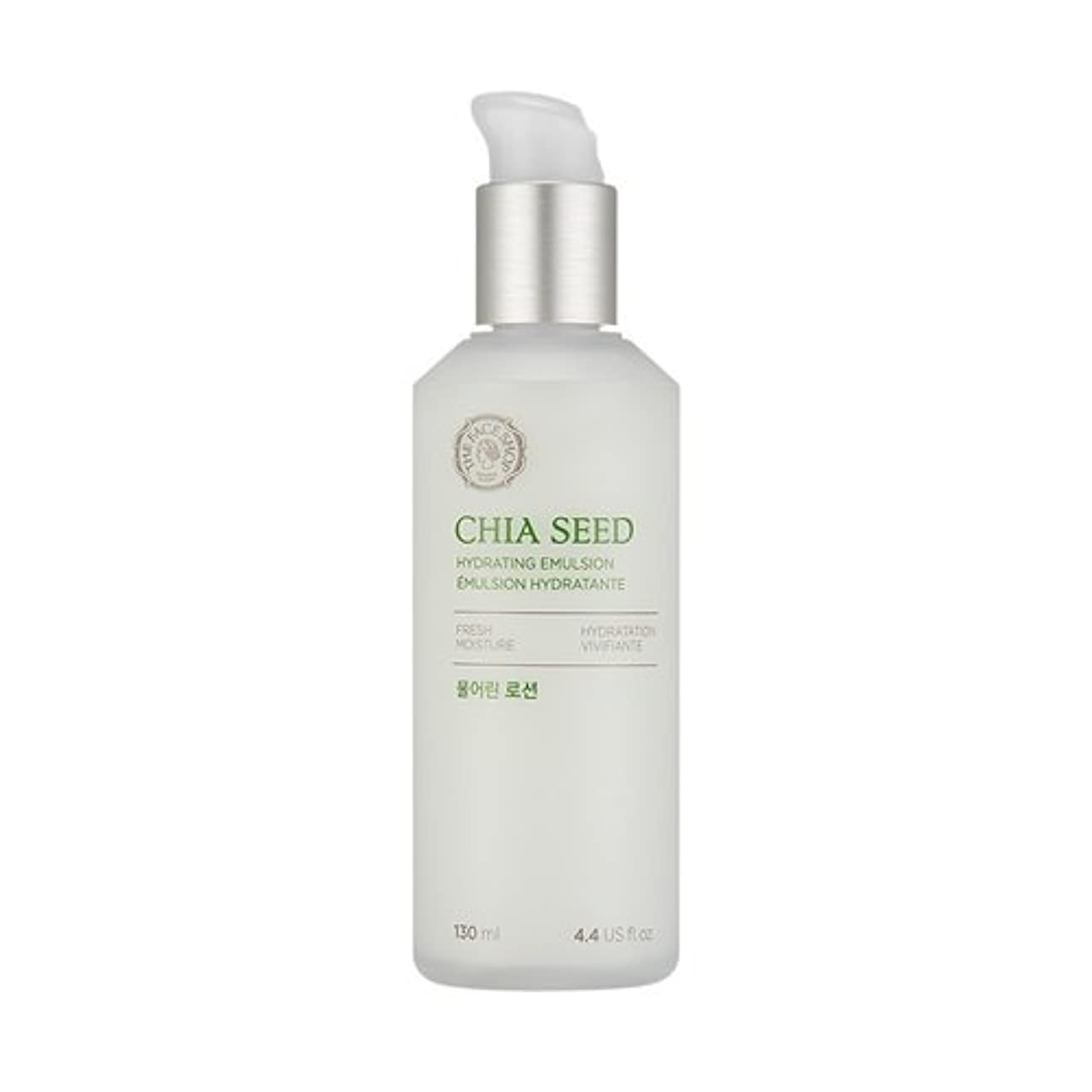 イブスローバーTHE FACE SHOP Chia Seed Hydrating Emulsion 130ml/ザフェイスショップ チアシード ハイドレイティング エマルジョン 130ml