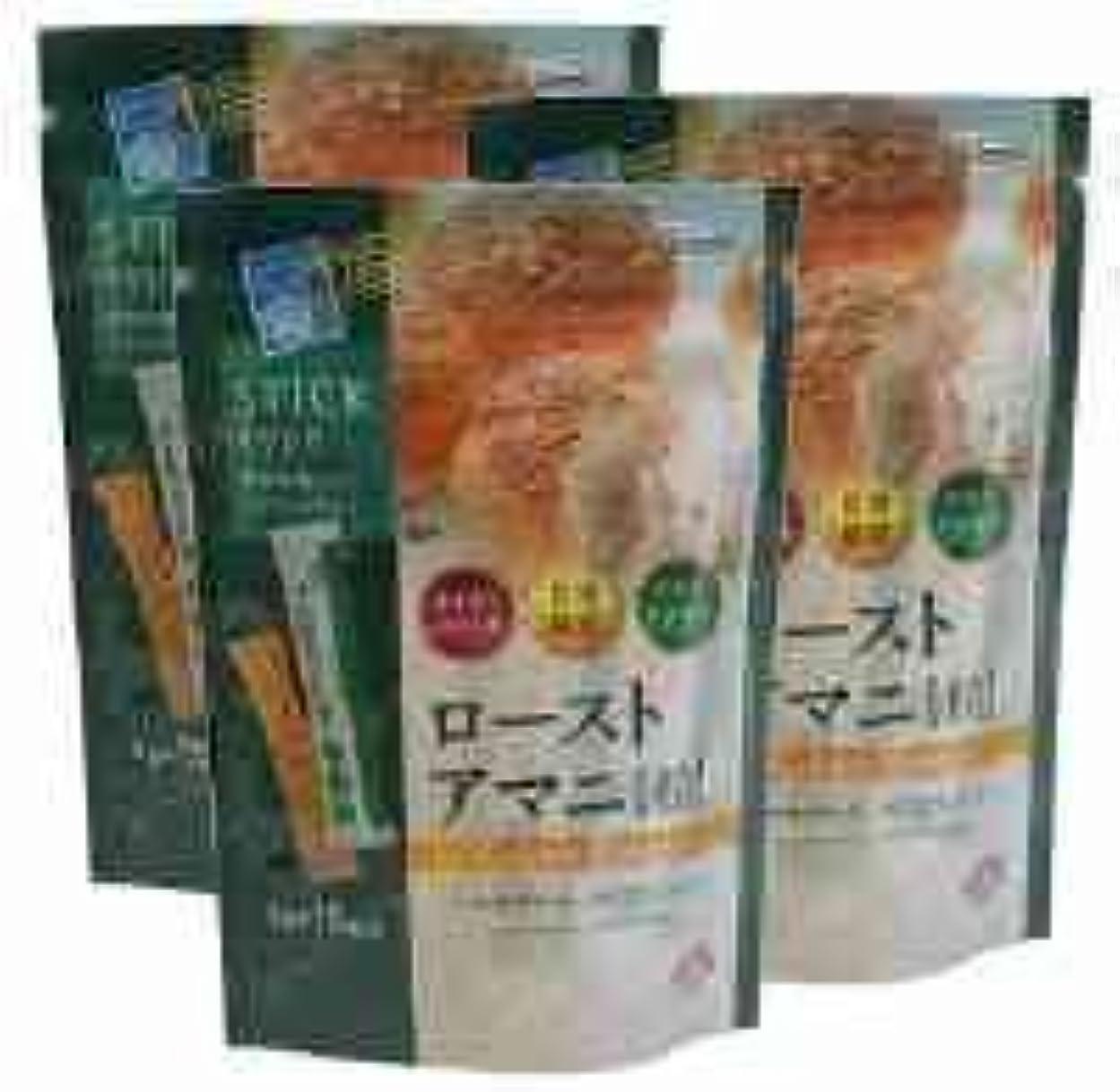 とティーム凶暴な広げるローストアマニ粒【3袋セット】日本製粉