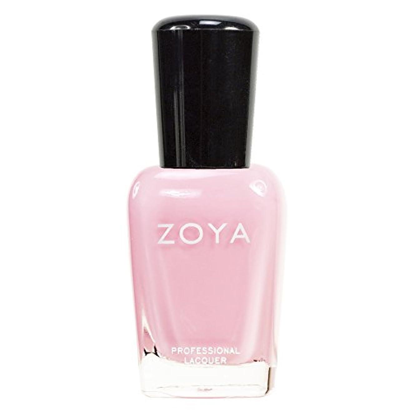 予算伝導放課後ZOYA ゾーヤ ネイルカラーZP315 BELA ベラ 15ml 淡く優しいクリーミーなピンク マット 爪にやさしいネイルラッカーマニキュア