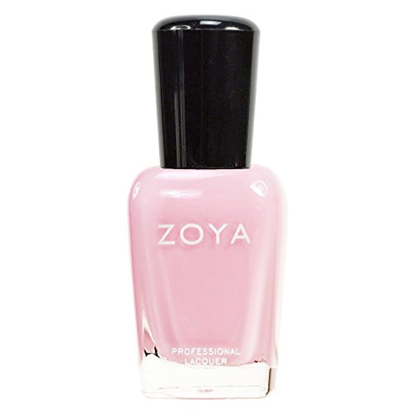 バーガー支配する話ZOYA ゾーヤ ネイルカラーZP315 BELA ベラ 15ml 淡く優しいクリーミーなピンク マット 爪にやさしいネイルラッカーマニキュア