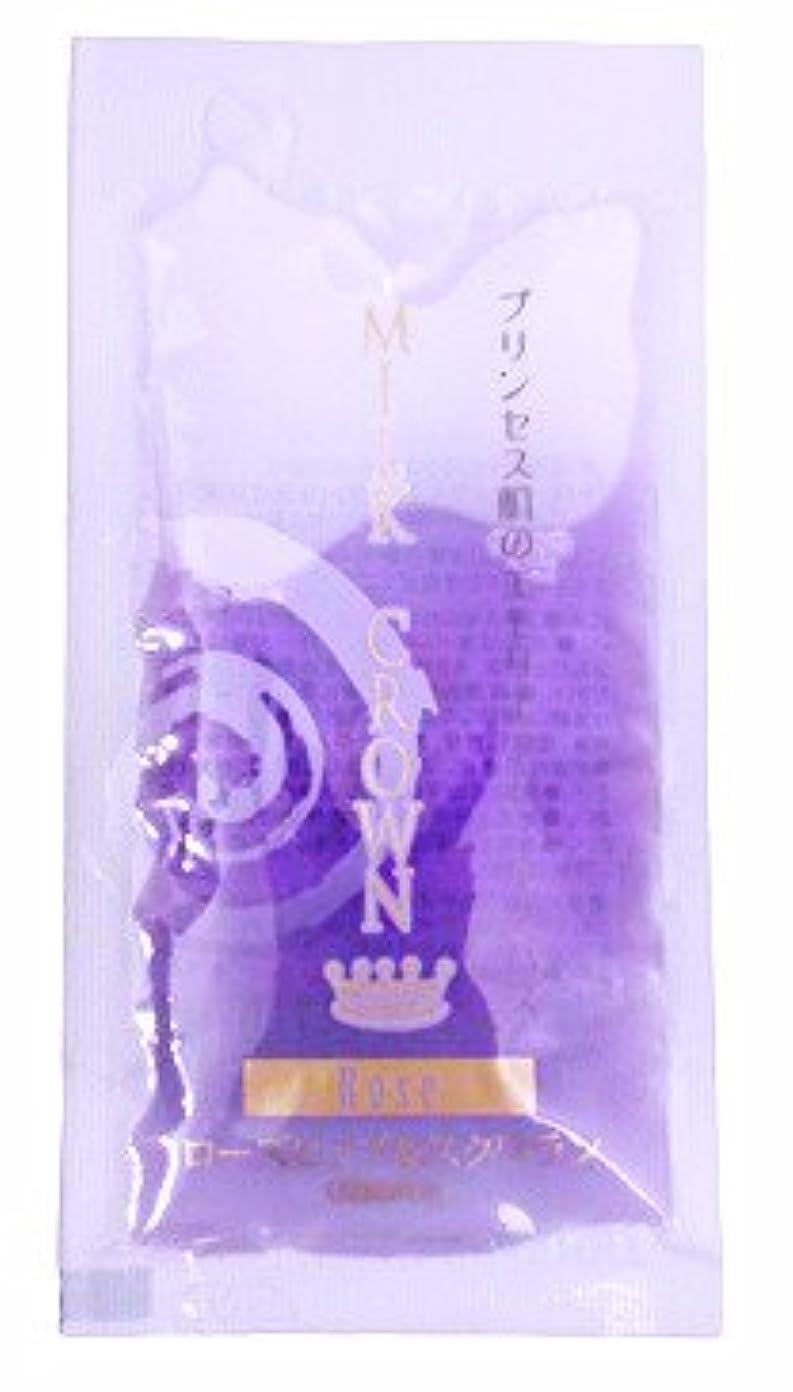 メダル策定するロマンス液体 入浴剤 ミルククラウン ローズ