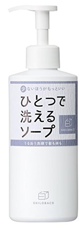 団結する酸っぱい流行白箱 ひとつで洗えるソープ 400ml