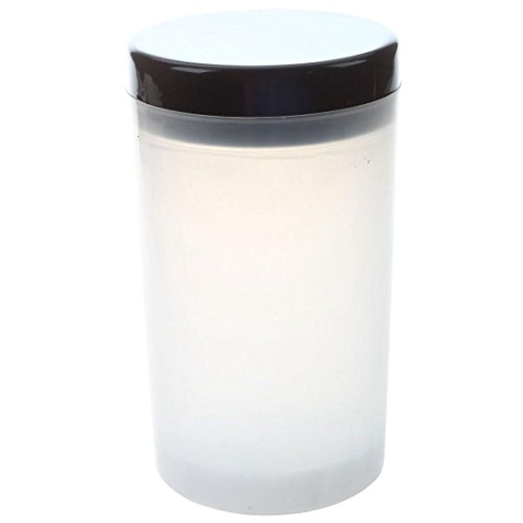 馬鹿げたテラスオフェンスGaoominy ネイルアートチップブラシホルダー リムーバーカップカップ浸漬ブラシ クリーナーボトル